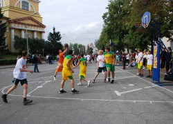 Всероссийские массовые соревнования по уличному баскетболу «Оранжевый мяч»